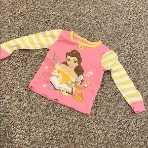 Belle pajama top